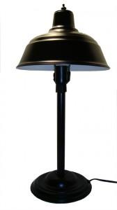 Black Machine Age Table Lamp