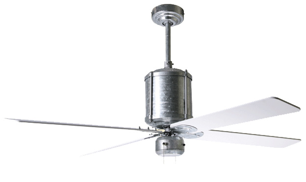 New Galvanized Ceiling Fan From Barn Light Electric