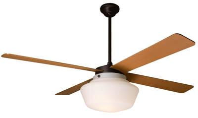 The Schoolhouse Ceiling Fan