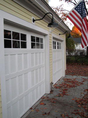 Original Goosneck On Double Bay Garage