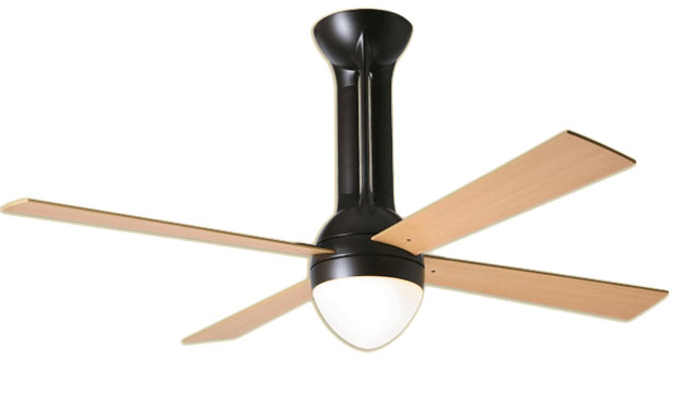 Eclipse Bronze Ceiling Fan with Light Kit