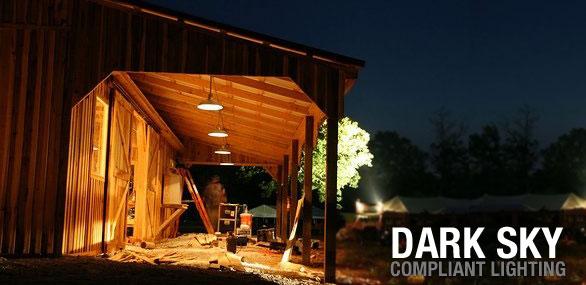 Dark Sky Compliant Light Fixtures