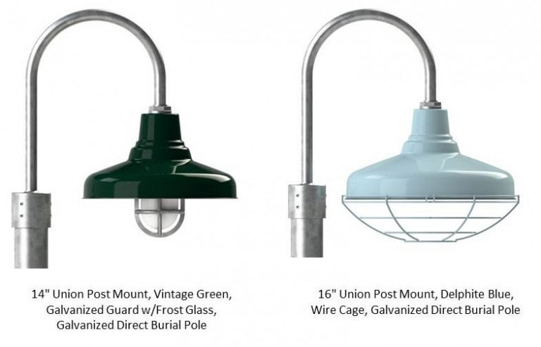 Customize Your Outdoor Lighting With Shade Size, Finish Color, And Other  Options Like Cast Guard And Glass Or A Wire Cage Which Are Available On  Fixtures ...