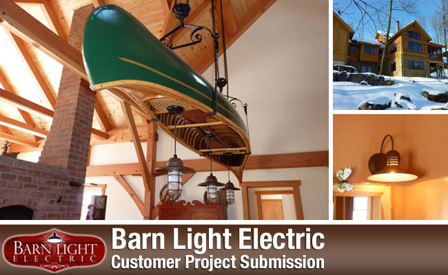 Rustic Lighting Solutions For Timber Frame Homes