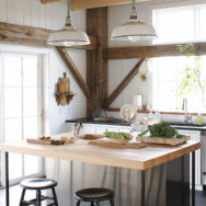 Rustic Kitchen Lighting Lessons From Martha Stewart