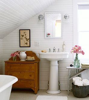 Country Bathroom Lights romantic inspired country spaces | blog | barnlightelectric