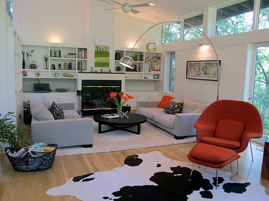 Mid Century Homes Showcase Modern Ceiling Fans Lamps