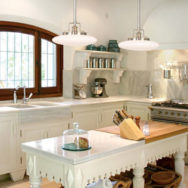 Victorian Kitchen Lighting For Decorative Islands