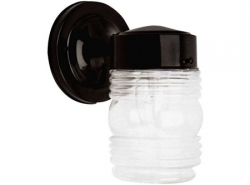 Classic Jelly Jar Wall Sconce