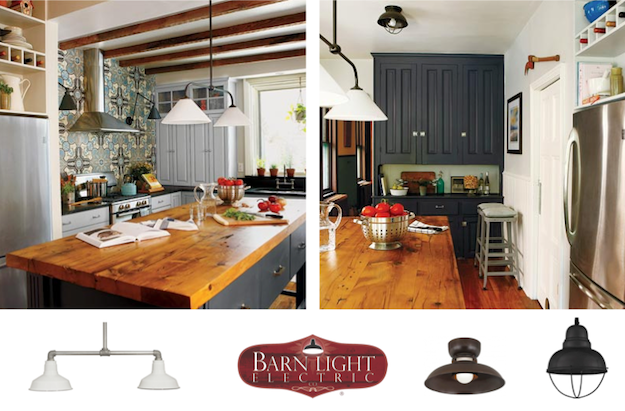 Utilzing Barn Pendants Found In This Old House Inspiration