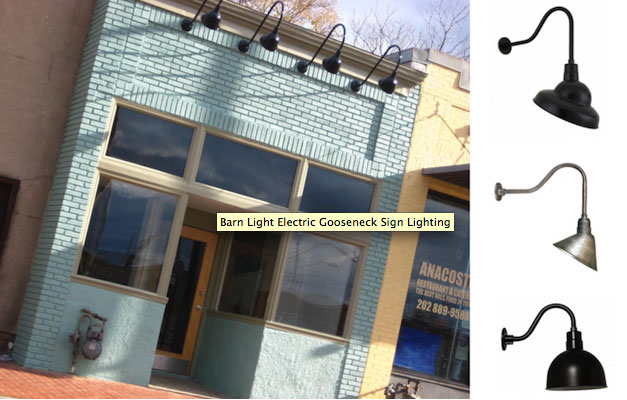 Sign Lighting For Historical Businesses And Restaurants