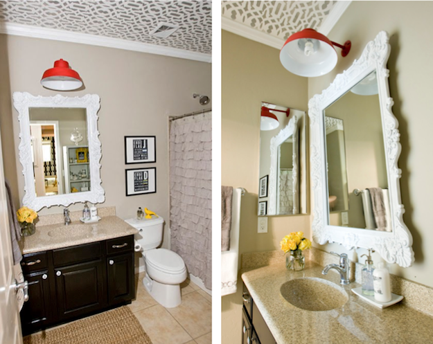 Discount Bathroom Lighting Makeover Blog