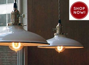 A Guide To Porcelain Enamel Barn Light Warehouse Shades