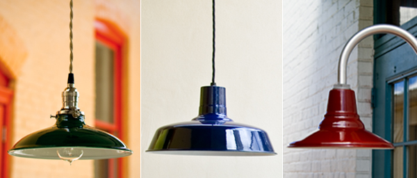 Porcelain Barn Lights At Light Electric Inspiration