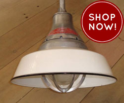 Vintage Rlm Warehouse Lights From Crouse Hinds Leton