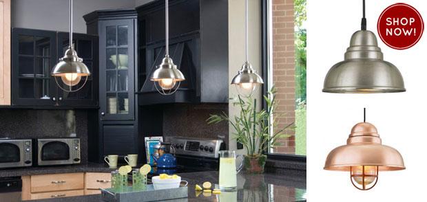 Barn Light Saddlebred Pendants For Kitchen Renovation