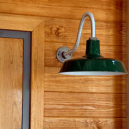 A Closer Look: Goodrich® Sky Chief Porcelain Gooseneck Light