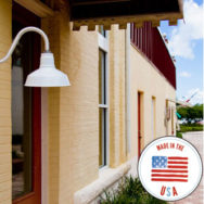 American Made Porcelain Enamel Lights