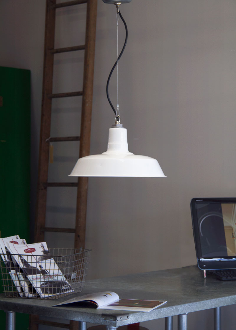 Barn light studio pendant