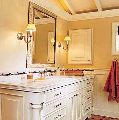 Bathroom Lighting Sconces sconces for bathroom wall sconces modern bathroom lighting ideas interior design elegant bathup shower Bathroom Wall Sconces Found On This Old House