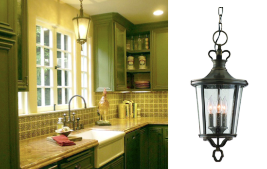 Exterior pendant used in a farmhouse kitchen blog the brilliance aloadofball Gallery