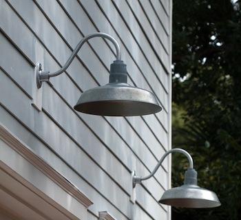 Garage Lighting Galvanized Gooseneck Lights Blog