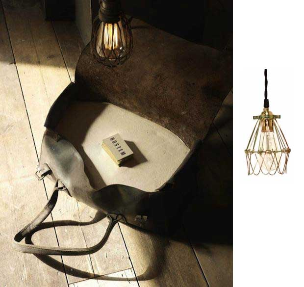 Wire Cage Lights & Industrial Pendants In London Store