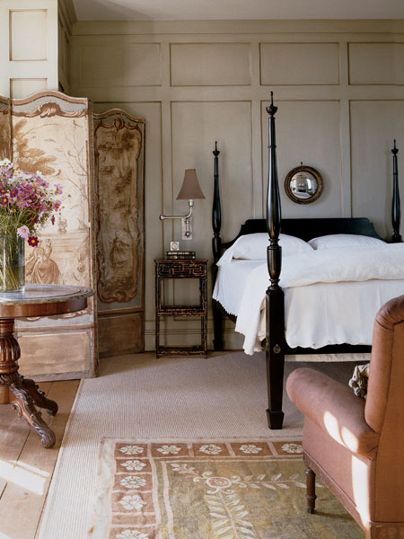 elegant bedside lighting for traditional style homes