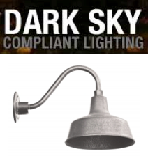 Dark Sky Compliant Gooseneck Lights