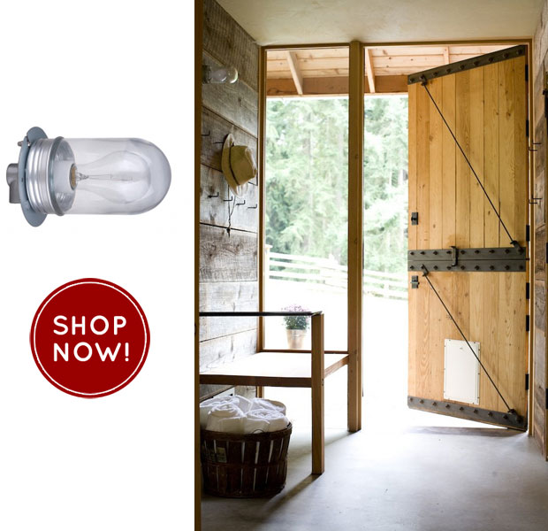 All Weather Warehouse Lighting Used In Barn Renovation