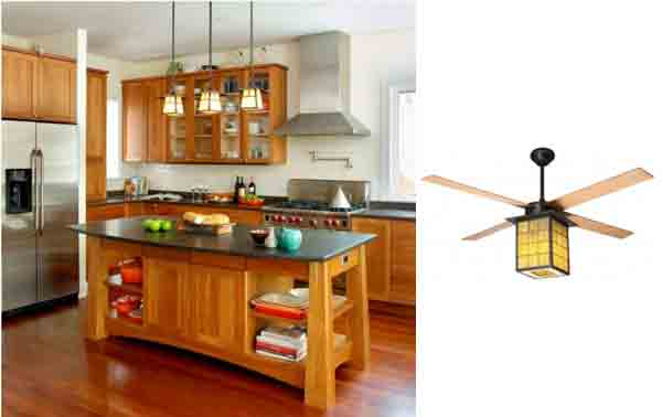 Library Ceiling Fan For Arts Craft Style Homes Blog