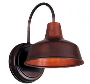 Barn Light Austin Sconce in Rosewood