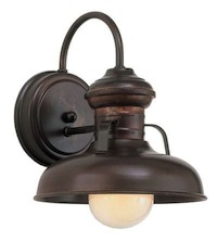 Barn Light Rawhide Sconce in Rosewood