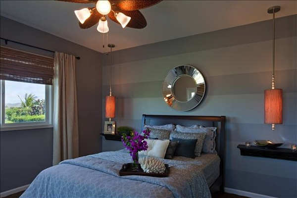 Hawaiian Master Bedroom Designed by Julie Sumile