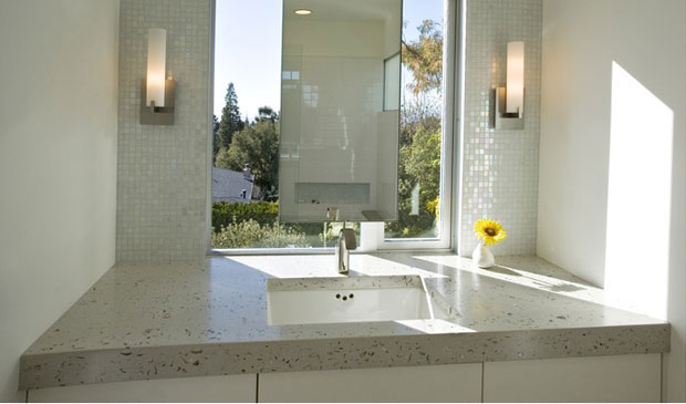 Modern wall sconces enhance bathroom lighting blog for Contemporary bathroom wall sconces