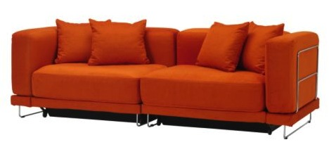 Ikea Orange Sofa Klippan Loveseat Ikea Oh Yes This Will Be