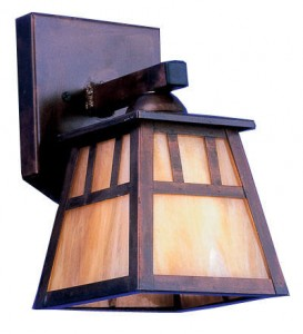 Arts and crafts interior exterior lighting blog for Arts and crafts light