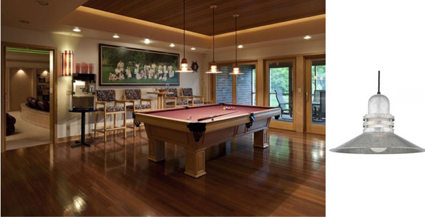 Convert Your Basement into a Game Room with New Lights : Blog : BarnLightElectric.com