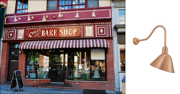 Sign Lights Add The Finishing Touch To Carlo S Bakery