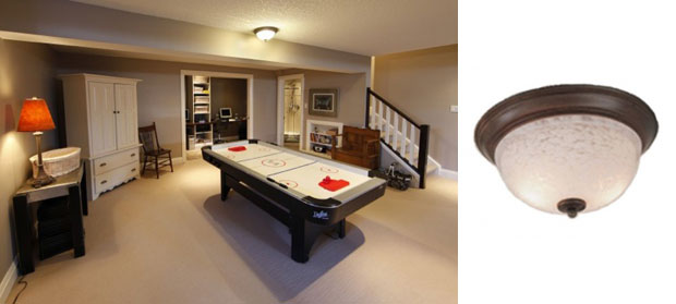 Basement Lighting Recessed Ceiling: Convert Your Basement Into A Game Room With New Lights