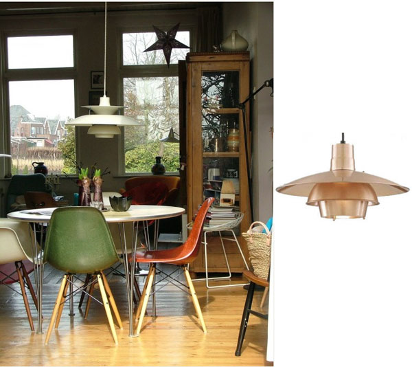 Modern pendants for mid century modern homes blog mid century modern homes with retro pendant lighting aloadofball Gallery