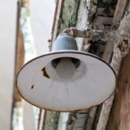 Vintage Barn Lighting That Lights Up the Eastern State Penitentiary