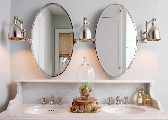 Farmhouse Bathroom Wall Sconces : Nautical Wall Sconces for a Modern Farmhouse Bathroom Blog BarnLightElectric.com