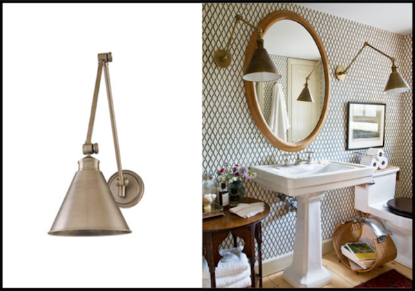 unconventional gooseneck lighting for your bathroom vanity most