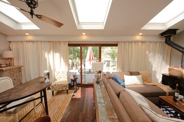 Dear genevieve designs an eco friendly living room blog for Genevieve gorder kitchen designs
