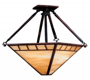 Seemingly ...  sc 1 st  Barn Light Electric Blog & Finding Period Style Arts and Crafts Lighting | Blog ...