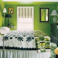 Vintage Sconce and Retro Table Lamp Balance Bright Bedroom