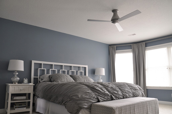Modern Ceiling Fans for a Contemporary Bedroom