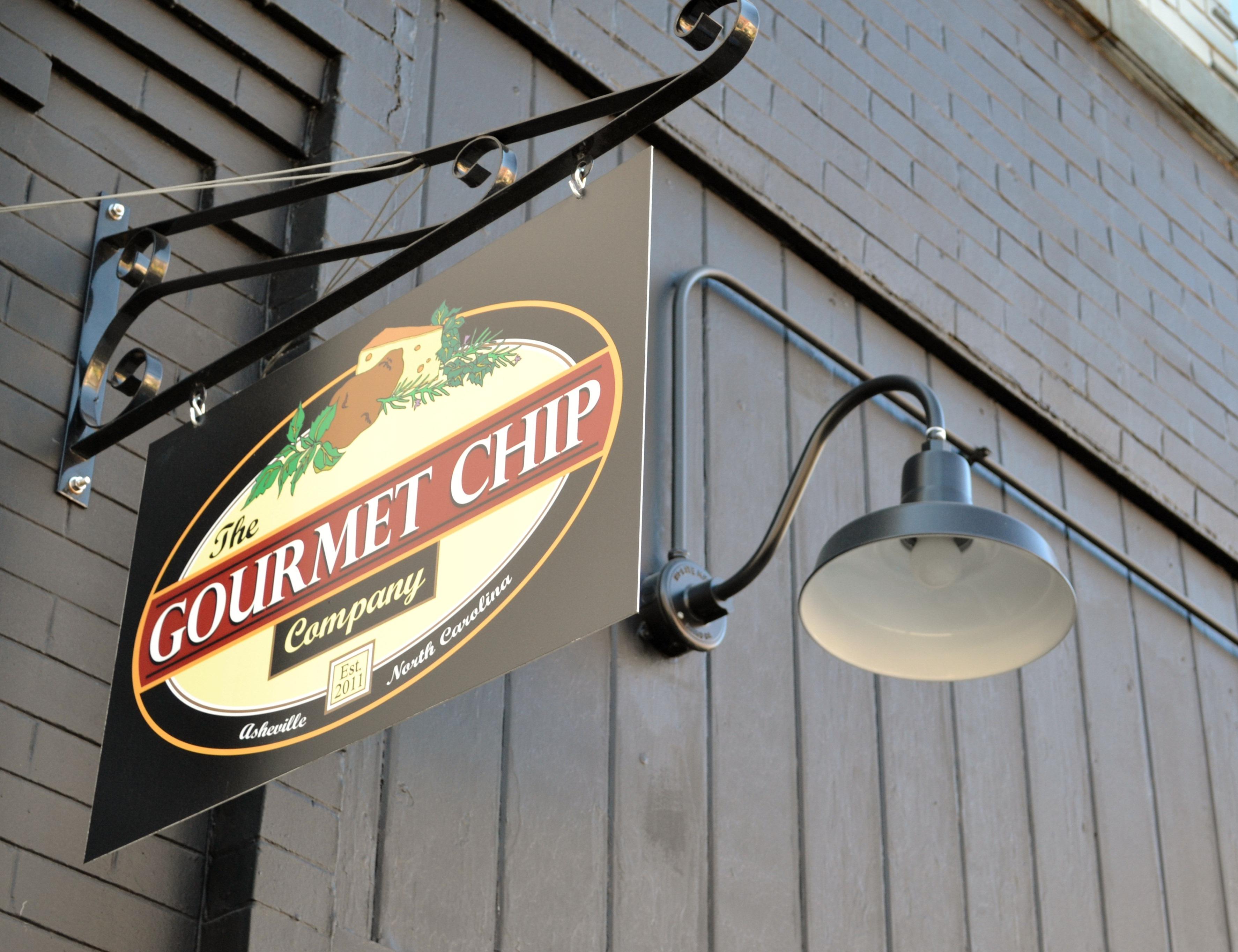 Barn Lights Angle Shades Add Snap To Gourmet Chip Company