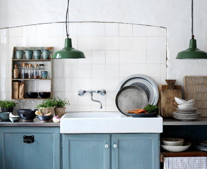 Porcelain Pendants Add Style To Industrial Farmhouse Kitchen Blog